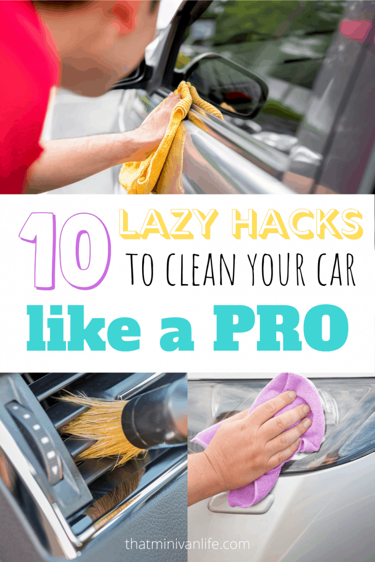 Tips and hacks for cleaning your car