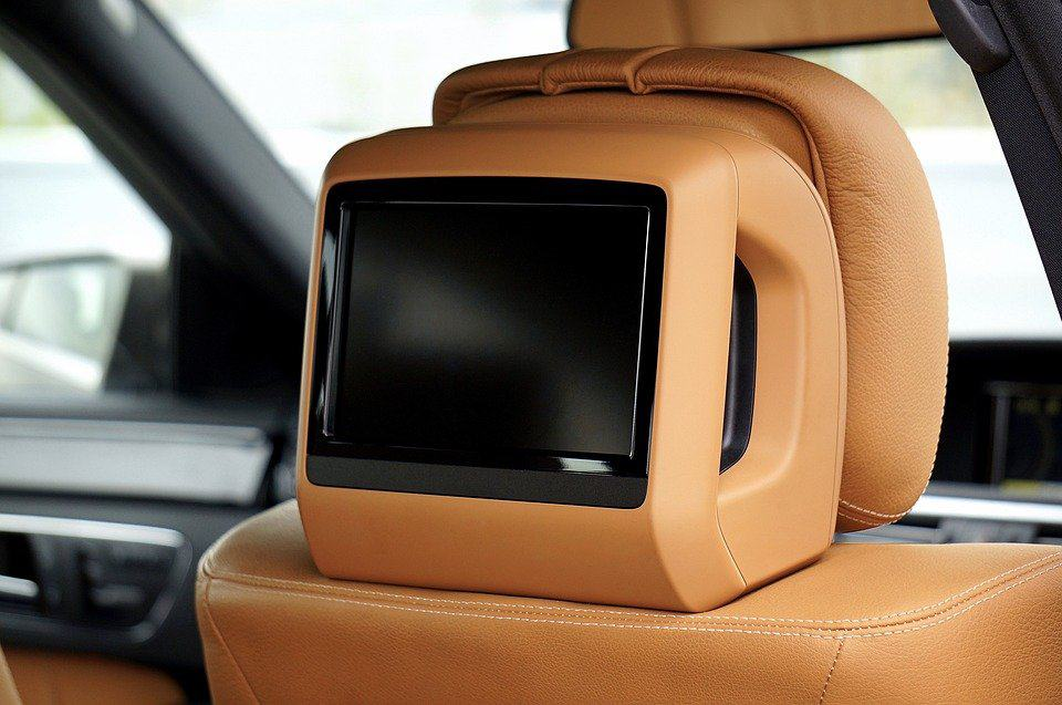 Picture of headrest screen