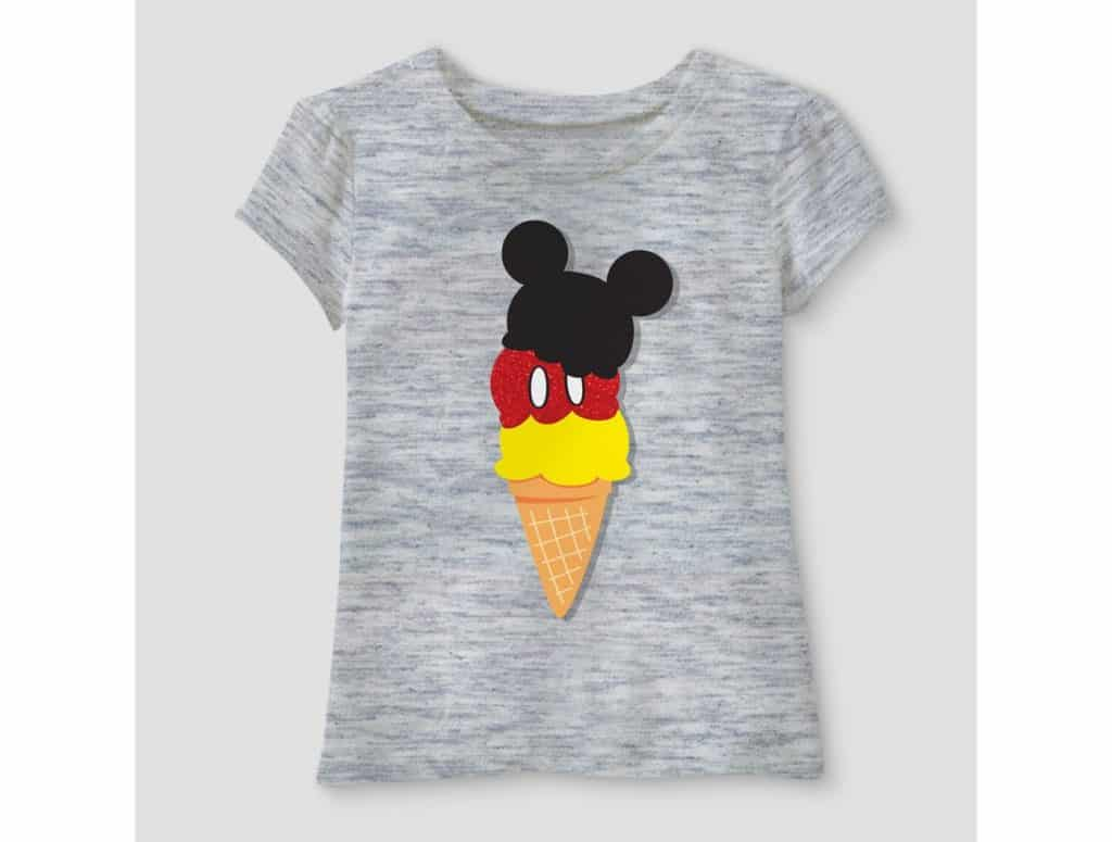 Mickey ice cream cone tee