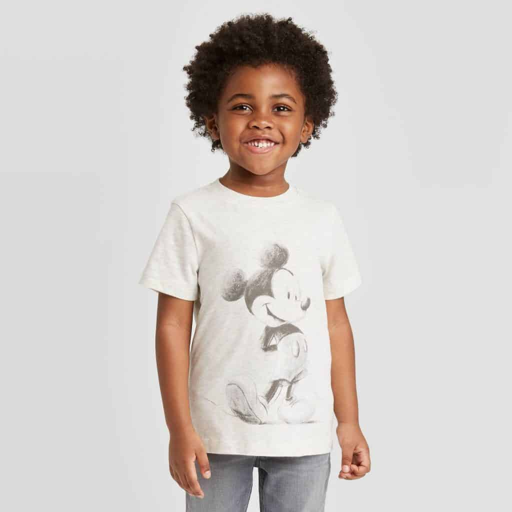Toddler Mickey Mouse tee from Target
