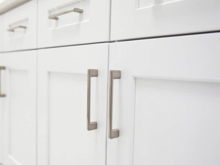 Kitchen cabinet door front,a commonly missed place when cleaning