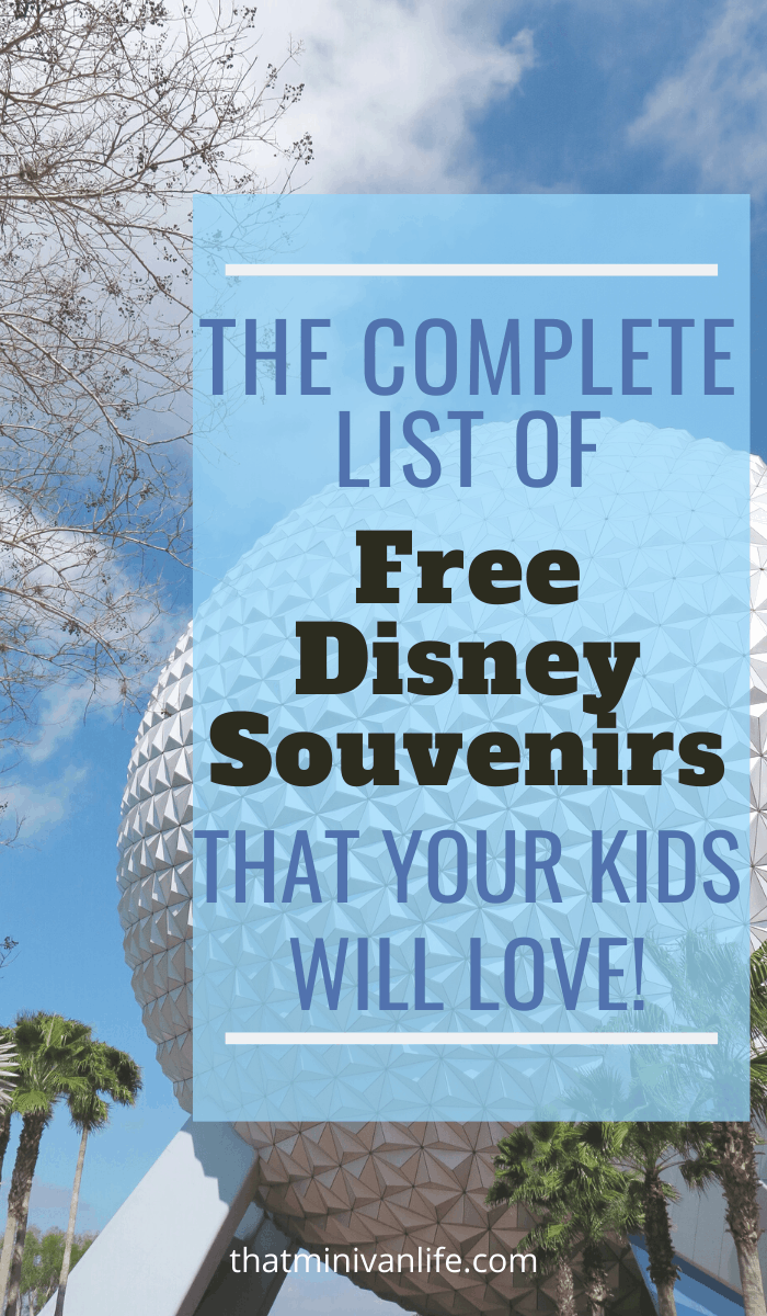 The Ultimate List of Free Disney Souvenirs Your Kids Will Love
