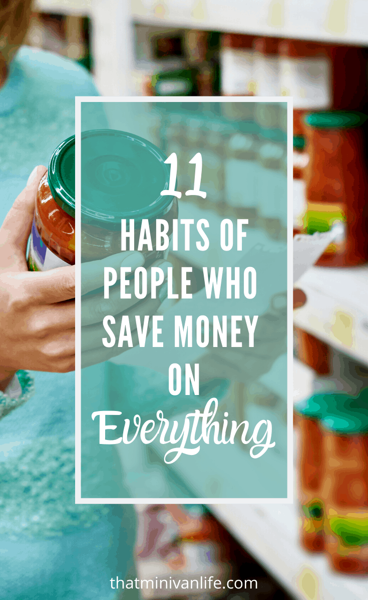 Habits of People who Save Money on Everything