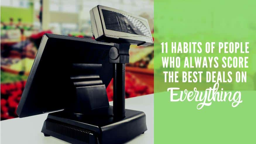 Grocery store register getting the best deals