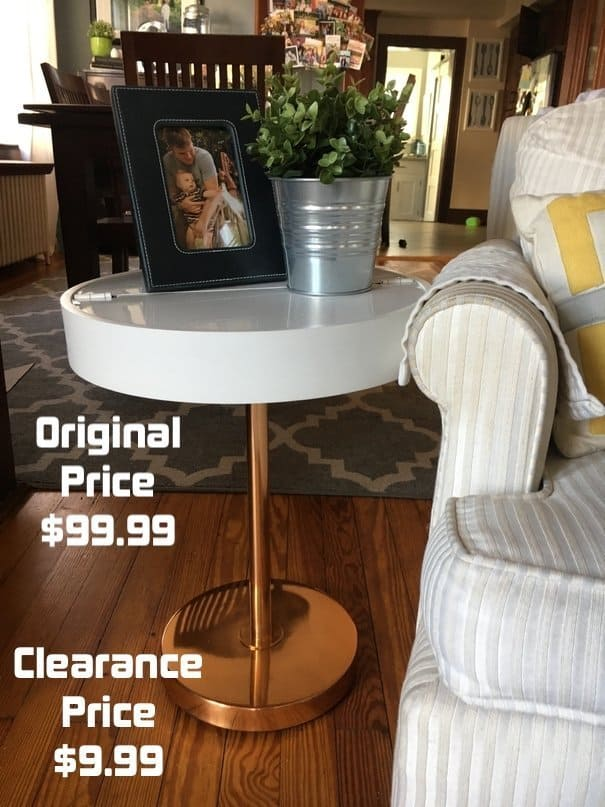Table from Target bought on clearance