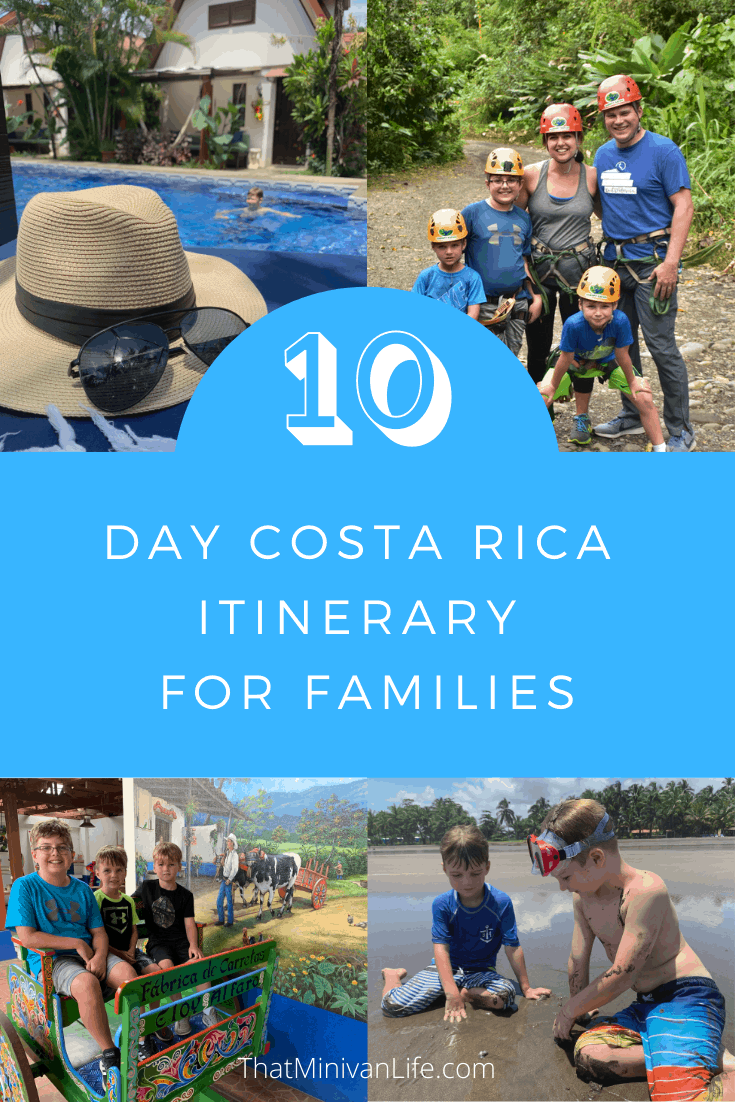 10 Day Costa Rica Itinerary with Kids
