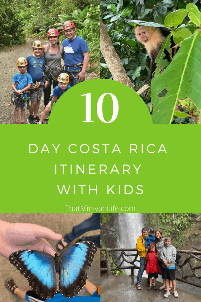 Collage of Costa Rica images