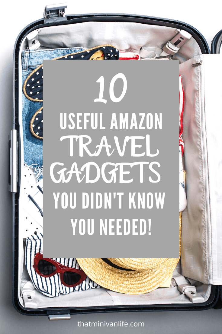 10 Useful Amazon Travel Gadgets You Didn't Know You Needed