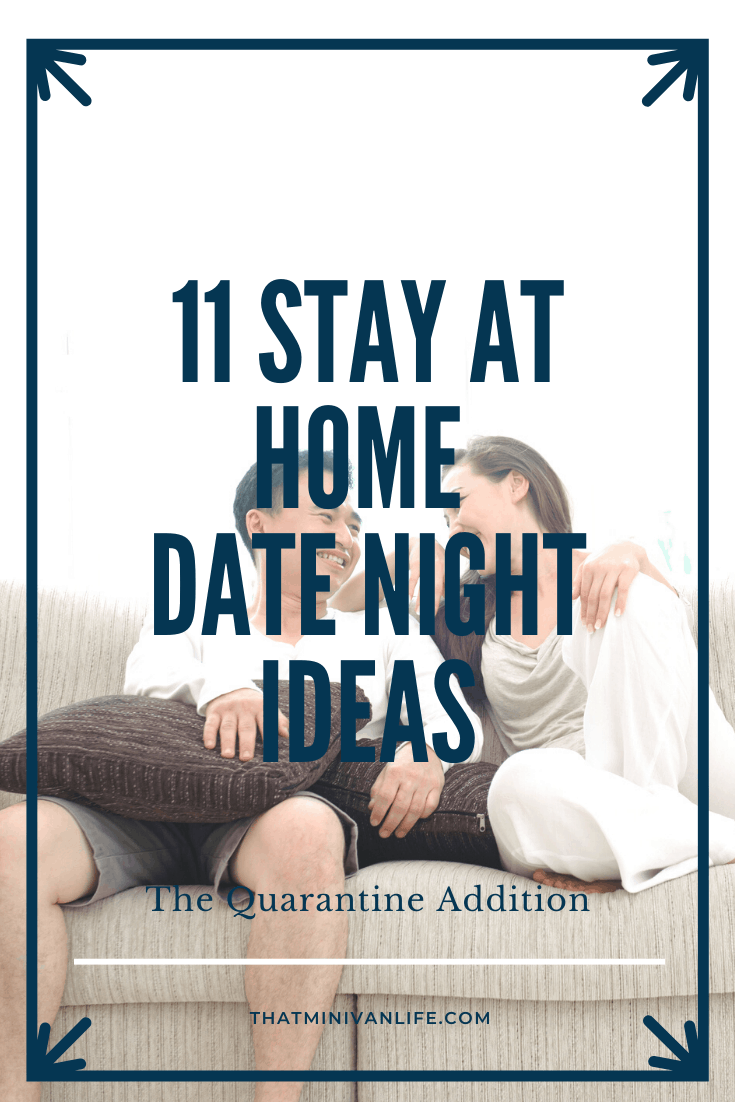 Couple having date night at home on the couch