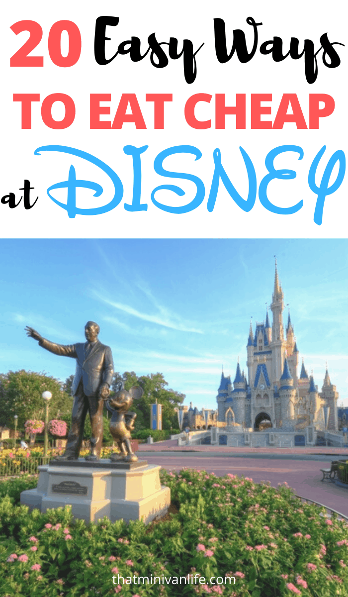 How to Eat Cheap at Disney World