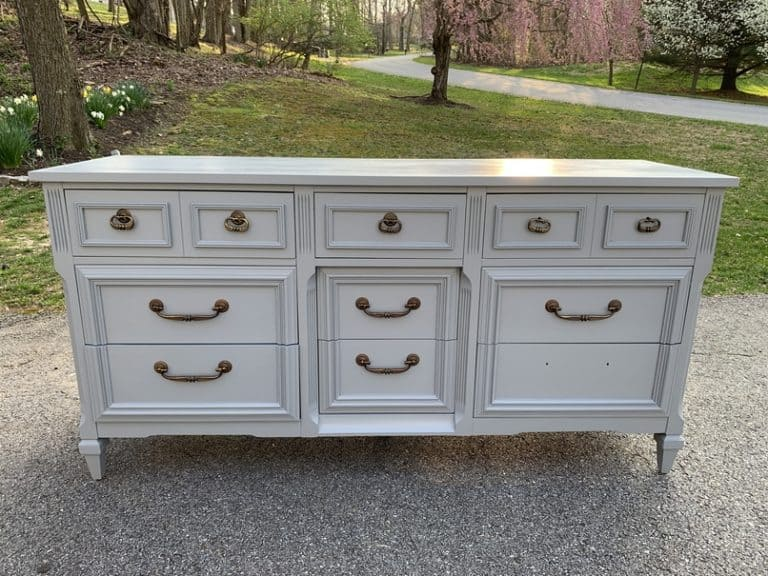 Painted Dresser home improvement project