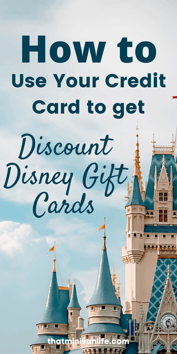 Discount Disney Gift Card pin3