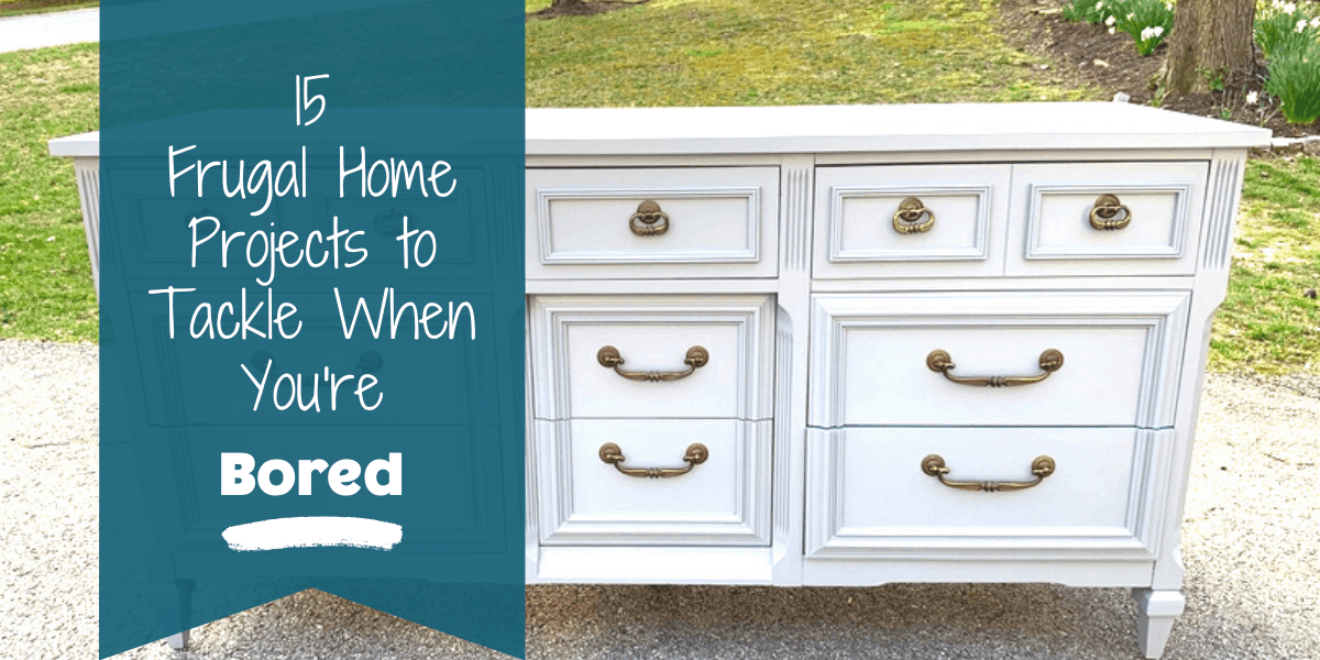 Refurbished Painted dresser