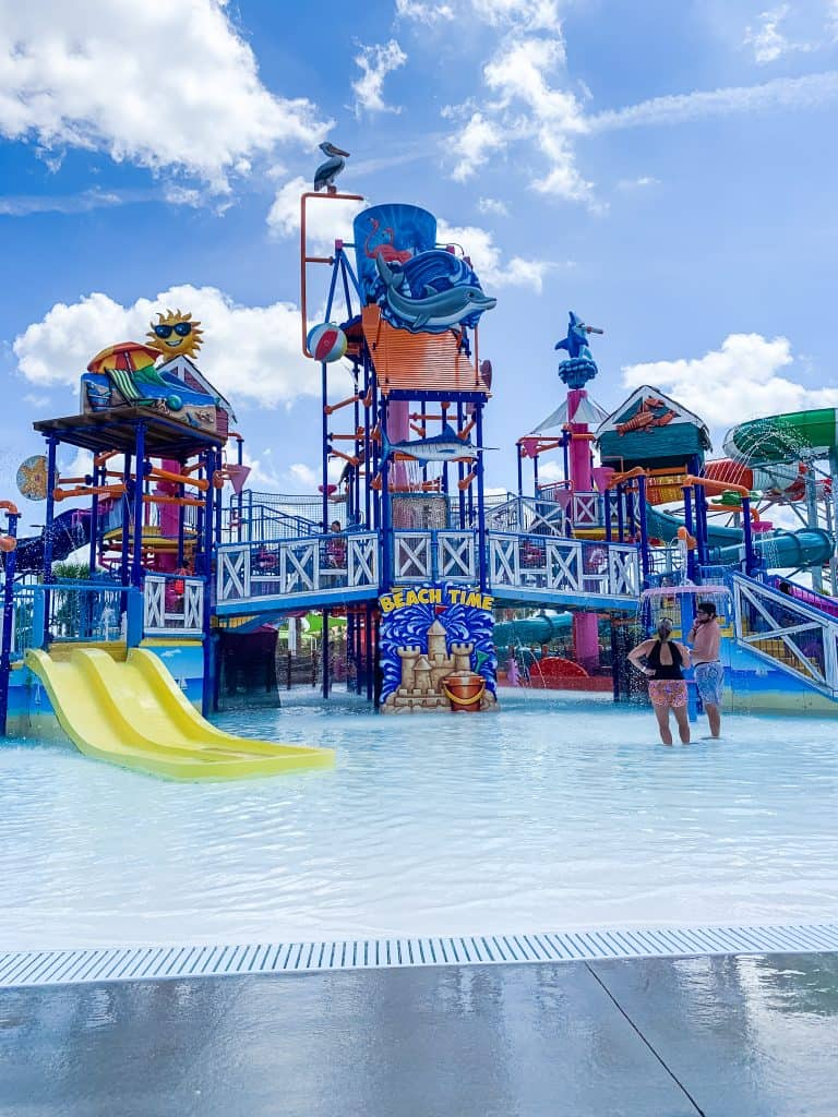 Kids water play area at Island H2O Live water park in Orlando