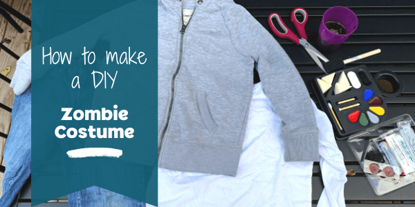 How to make a DIY zombie costume