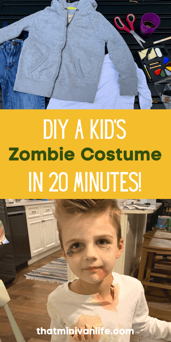 How to make a zombie costume