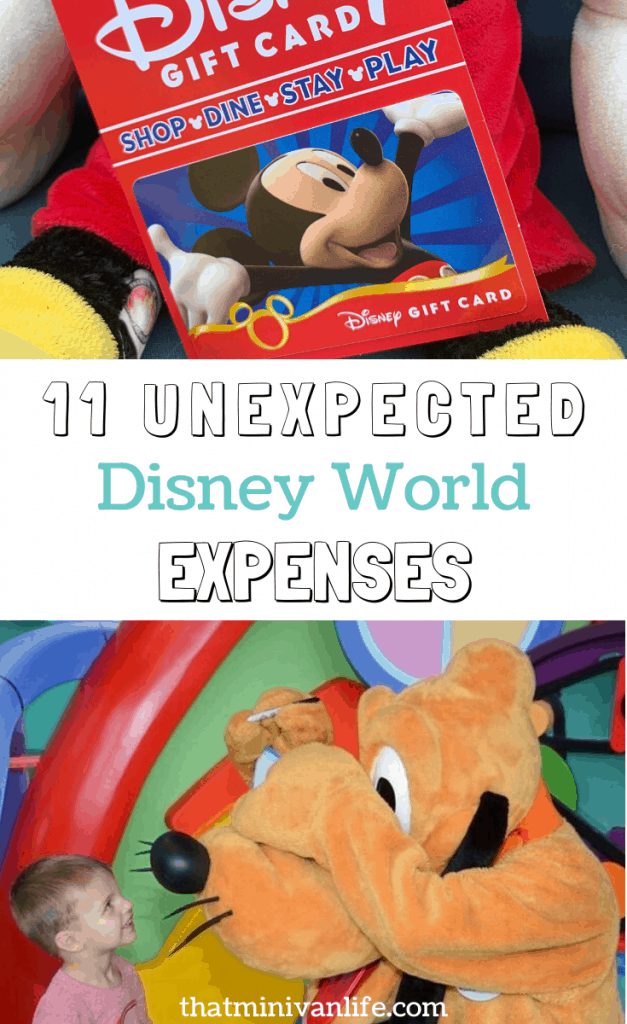 11 Unexpected Expenses at Disney World pin