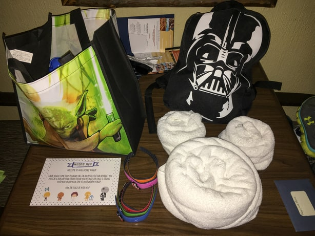 star wars themed Tinkerbell gifts on Disney vacation