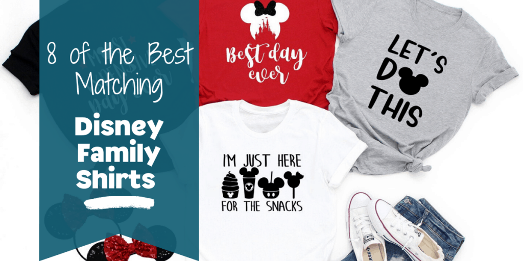 Matching Family Shirts for Disney blog post banner
