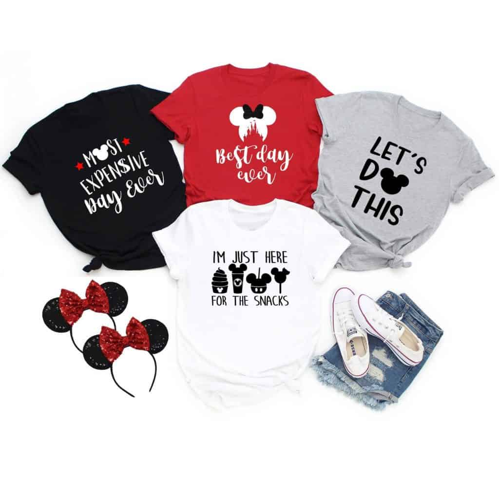 Best Day ever family disney shirts