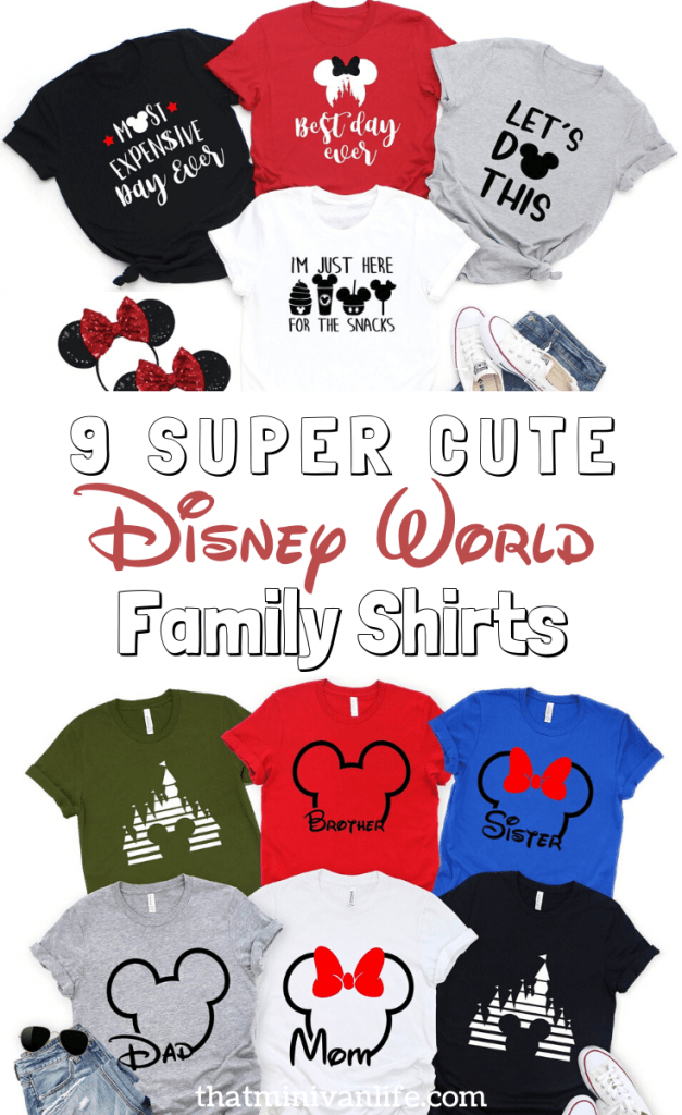 Matching Disney World Shirts Pin