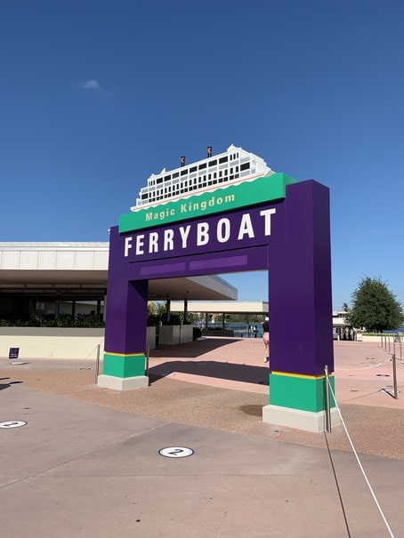 The Magic Kingdom Ferryboat can be affected by bad weather