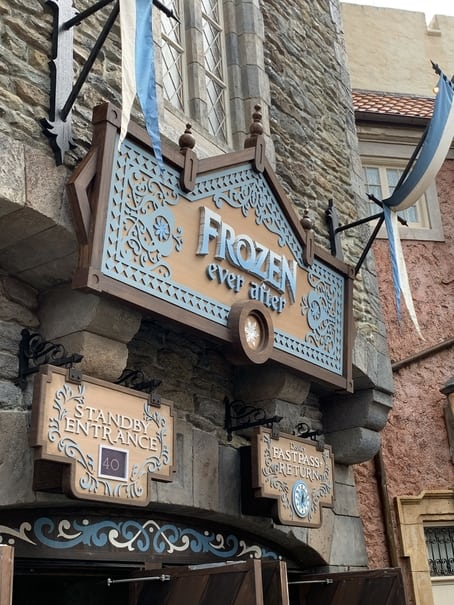 Frozen Ever After in Epcot