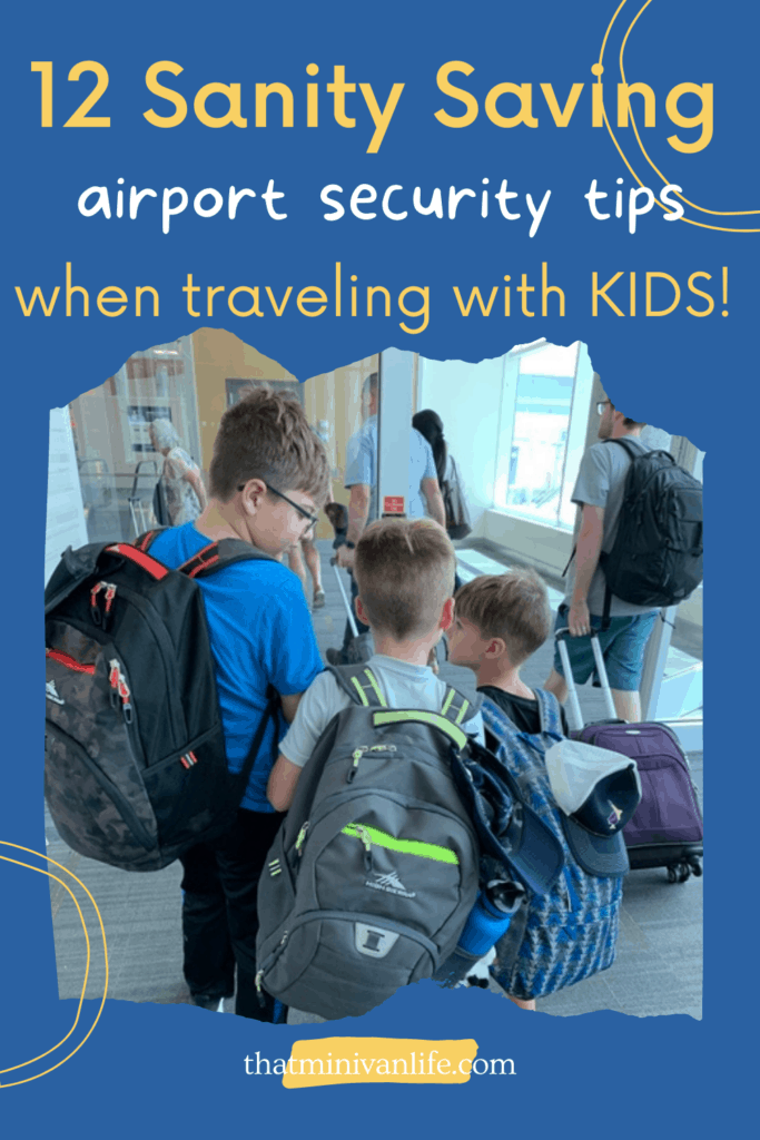 12 Sanity saving airport security tips