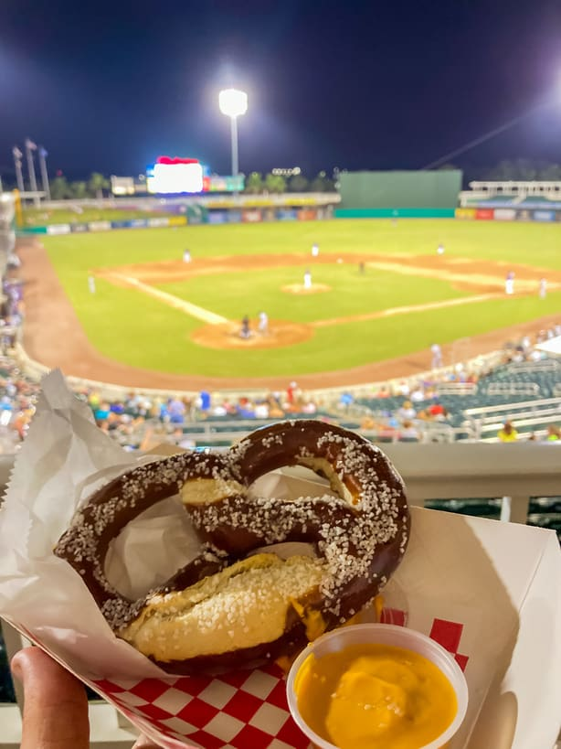 Fort Myers Mighty Mussels Minor League Game
