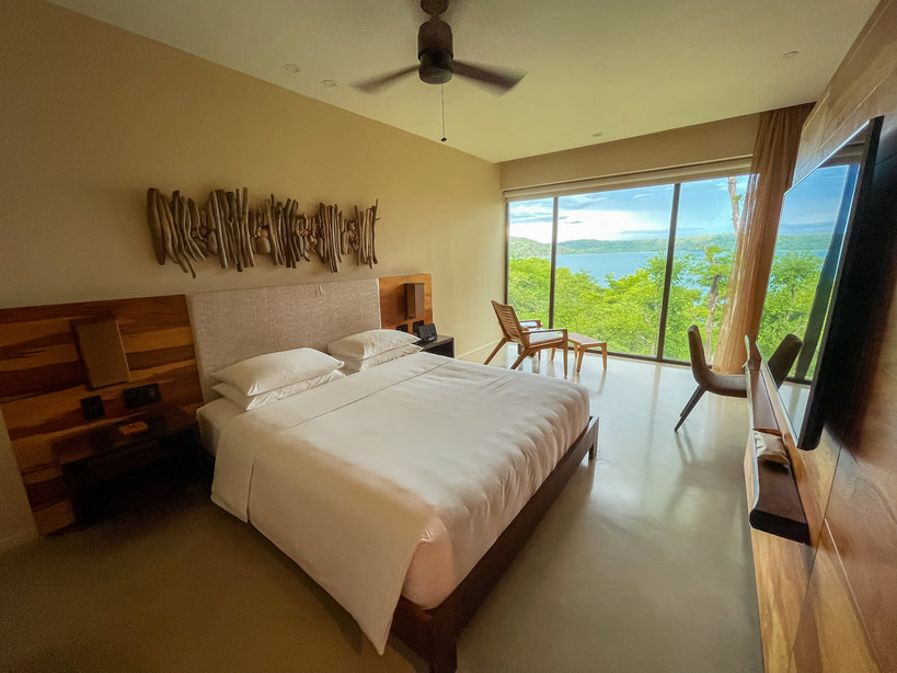 King room with bay view at the Hyatt Andaz in Costa Rica