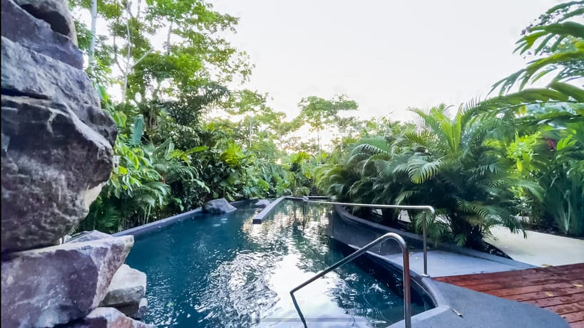 Second pool at Amor Arenal, one of the best hotels near Arenal Volcano